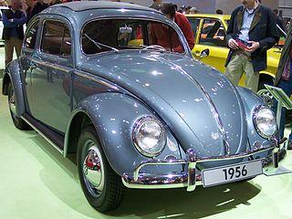VW Beetle 1956