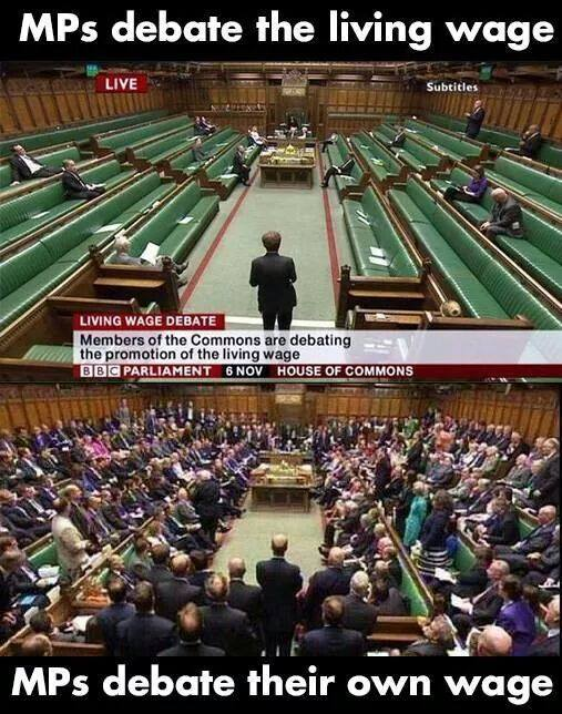 UK MPs debating