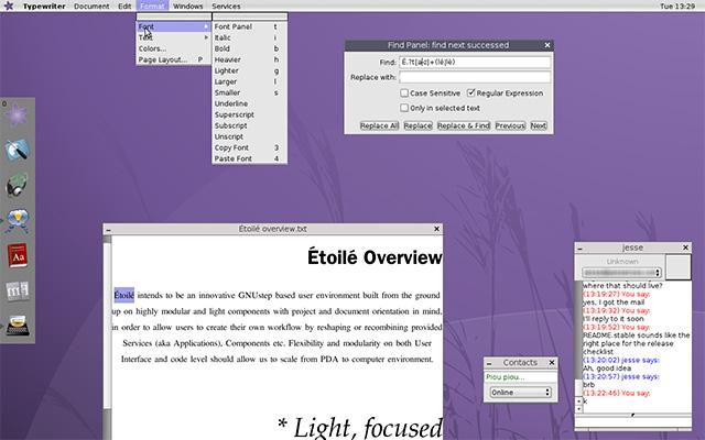 Etoile Desktop