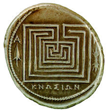 labyrinth coin